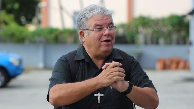 Padre José Conrado, párroco de Trinidad