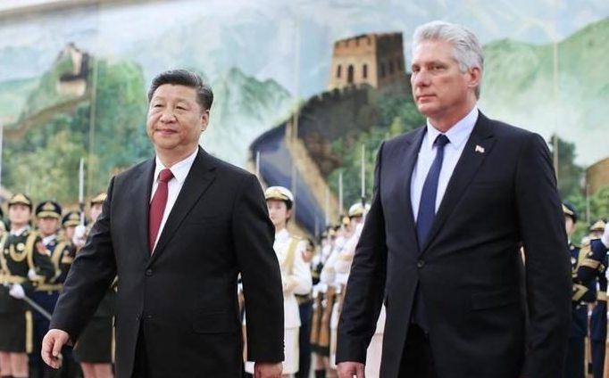Díaz-Canel ratifica acuerdos bilaterales con China en conversación telefónica con Xi Jinping