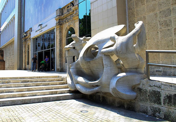Cuban art museum in old havana © Cuba Absolutely, 2014